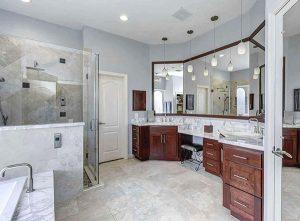 attractive bathroom remodel
